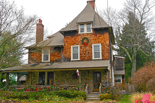 Home in the North Wayne Historic District, Radnor Township, Delaware County, PA