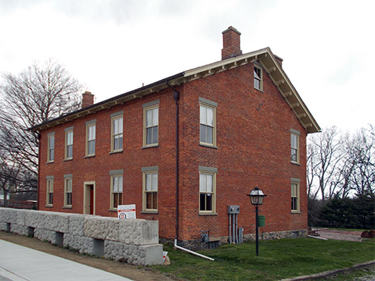 Nicholson House and Inn, ca. 1825, 4838 Ridge Road, Millcreek Township, Erie County, PA, National Register