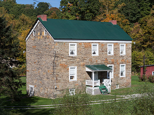 Andrew Rabb House, ca. 1794, Route 166, German Township, Fayette County, PA.], National Register