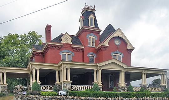 Adam Clarke Nutt Mansion, Uniontown, Fayett County, PA