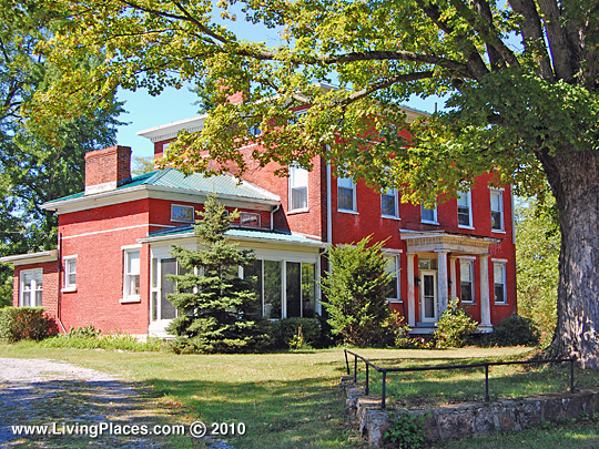 Benjamin B Lea House, National Register of Historic Places, Shirleysburg, Huntingdon County, PA