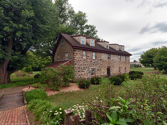 Michael Dohner Farmhouse, ca. 1732, East Lampeter Township, Lancaster County, PA, National Register