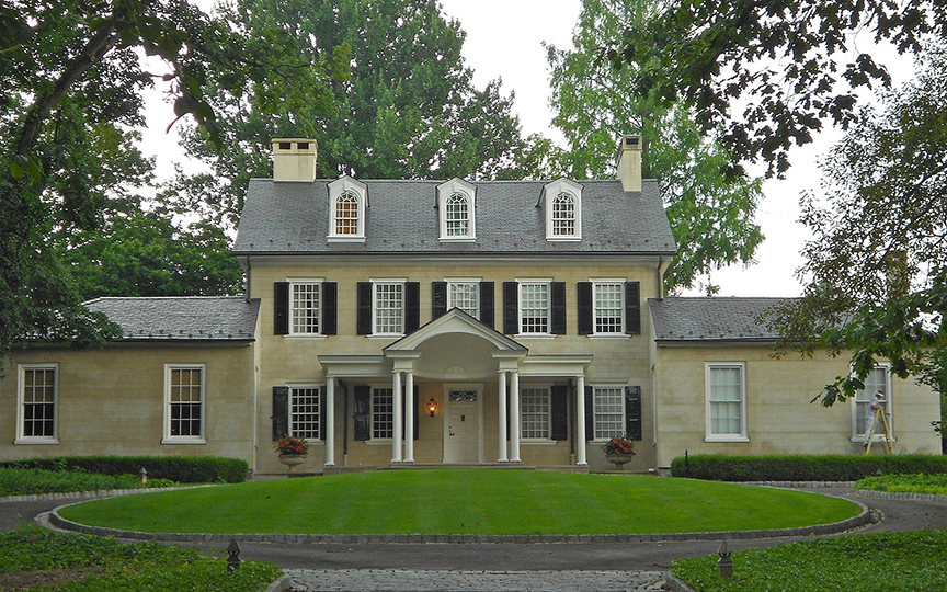 Abbeville (Mount Pleasant), ca. 1756, 1140 Columbia Avenue, Lancaster Township, PA, National Register