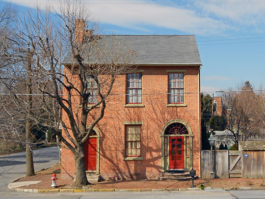 Joseph Bucher House, ca. 1806-1811, 104 East Front Street, Marietta, PA, National Register
