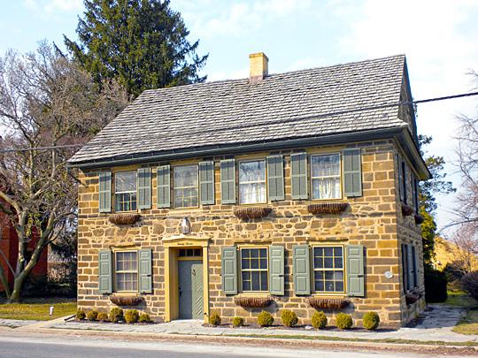 House on Main Street, Strasburg Historic District, Strasburg, PA