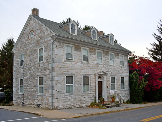 Biever House, ca. 1814, 49 South White Oak Street, Annville Historic District, Annville, PA, National Register