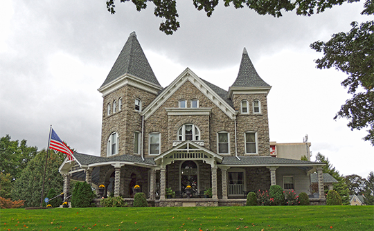 David Thomas House, ca. 1856, Catasauqua Residential Historic District, Catasauqua, PA, National Register