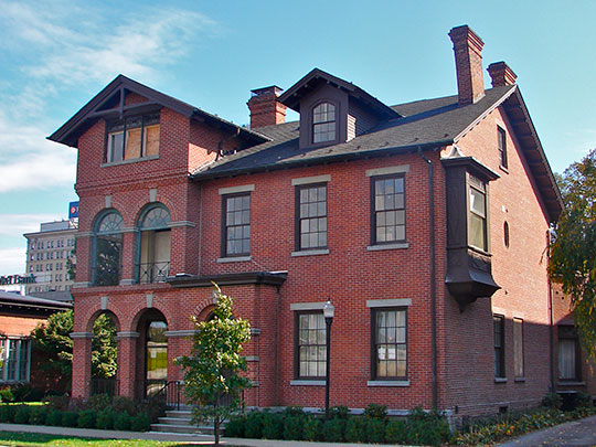 McClintock Hall, Wilkes College, ca. 1841, 44 South River Street, Wilkes-Barre, PA, National Register