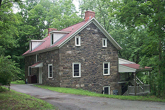 Captain Jacob Shoemaker House, ca. 1810, Legislative Route 45012, Middle Smithfield Township, Monroe County, PA, National Register