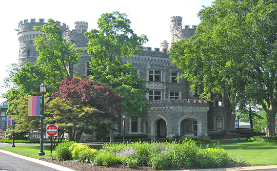 Grey Towers, ca. 1893, Arcadia University campus, Glenside, PA, National Register