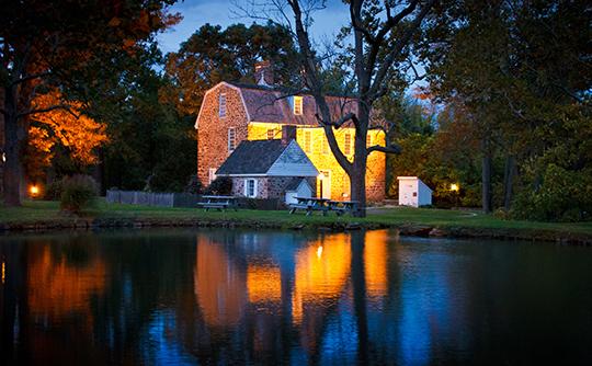Keith House at Graeme Park ca. 1722, County Line Road, Horsham Township, Montgomery County, PA, National Historic Landmark