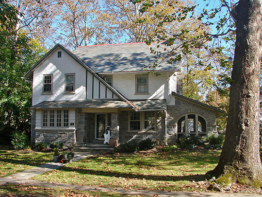 Home on Narbrook Road, ca. 1917, Narbrook Park Historic District, Narberth, PA, National Register