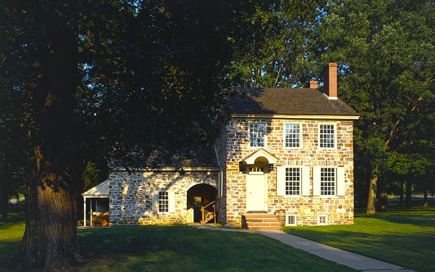 Isaac Potts House, Montgomery County, ca. 1773, Valley Forge, WashingtonHeadquarters