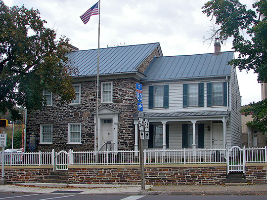 General William Montgomery House, ca. 1777, 1-3 Bloom Street, Danville, PA, National Register