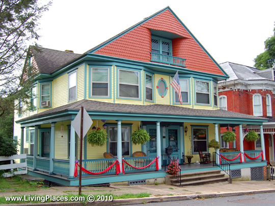 West Market Street Historic District, National Reigster of Historic Places, Danville, PA