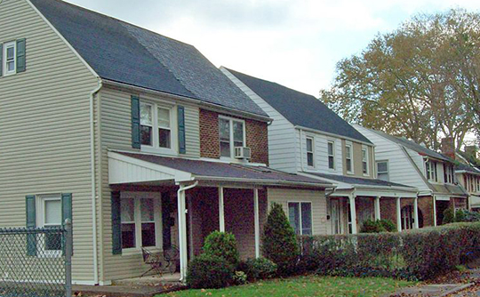 Homes in the Elmwood Park Historic District, Bethlehem, PA, National Register