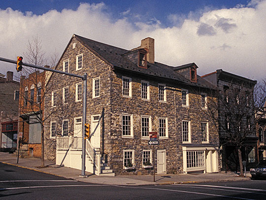 Stone Tavern, House, Easton Historic District, 1700s, Easton, PA, National Register