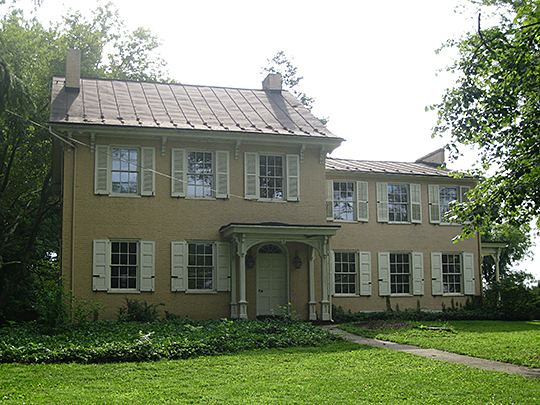 Colonel James Cameron House, ca. 1840, River Road, West Chillisquaque Township, PA, National Register