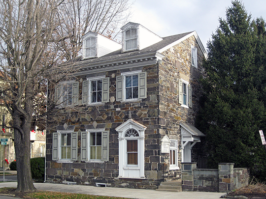 Beck House, ca. 1785, 62 North Front Street, Sunbury, PA, National Register
