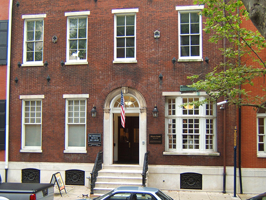 Rosenbach Museum and Library, 2008-2010 Delancey Place, Philadelphia, PA, National Register