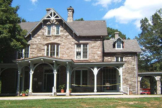 Francis Cope House, ca. 1860, Awbury Historic District, Philadelphia, PA, National Register