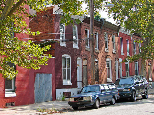 Stiles Street West, Brewerytown Historic District, Philadelphia, PA, National Register
