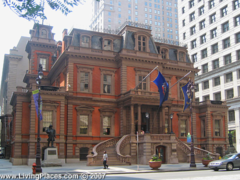 Union League, National Register of Historic Places, Philadelphia, PA