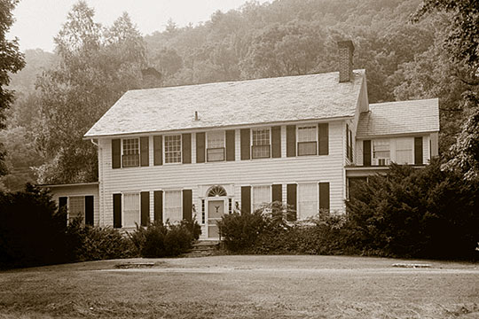 William Nyce House (Eshbach House), ca. early 19th century, Route 209, Egypt Mills, Lehman Township, Pike County, PA, National Register
