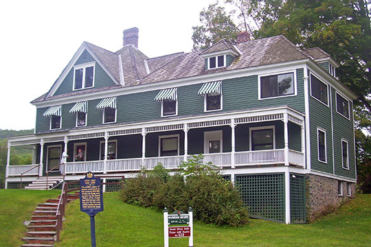 Zane Grey House and Museum, ca. 1905, Lackawaxen, Pike County, PA, National Register