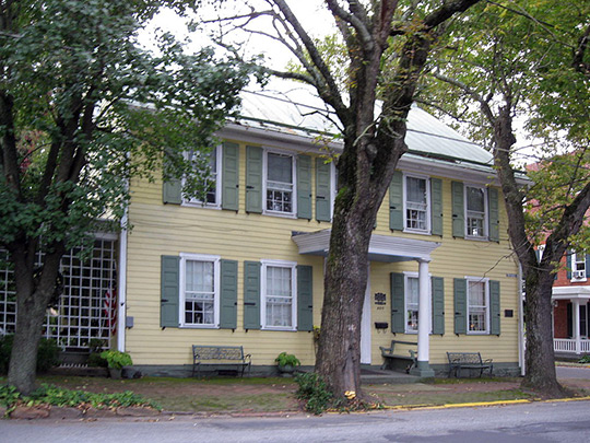 Nutting Hall, ca. 1825, 205 S. Tulpehocken St., Pine Grove, PA, National Register