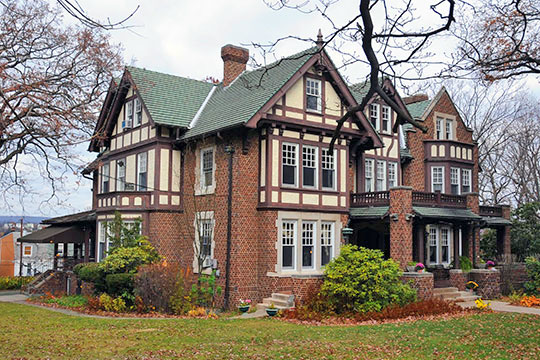Frank D. Yuengling Mansion, ca. 1913, 1440 Mahantongo St., Pottsville, PA, National Register