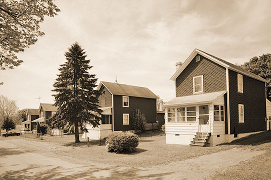 Miners' Homes on 5th Street, Cairnbrook, Shade Township, Somerset County, PA, National Register