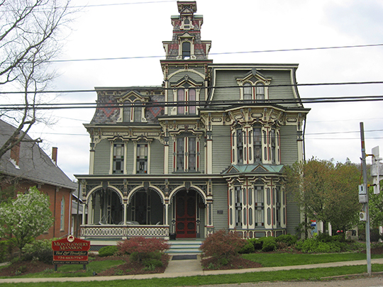 Montgomery House, ca. 1880, 1274 West Main Street (Route 40), Claysville, PA, National Register