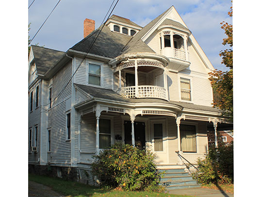 Home in the Honesdale Residential Historic District, Honesdale, PA, National Register