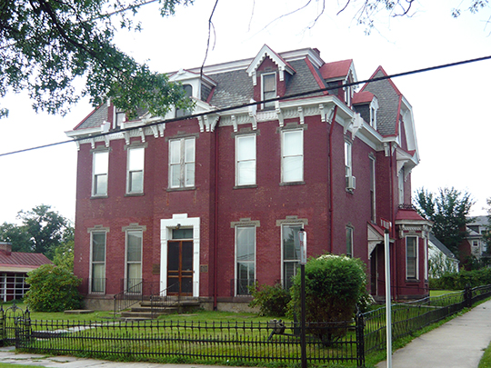 Samuel Warden House, ca. 1886, 200 South Church Street, Mount Pleasant, PA, National Register