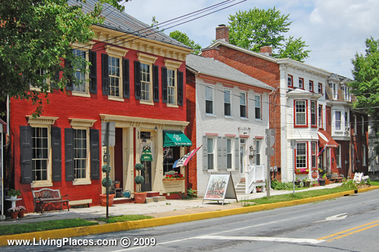 Borough of Shrewsbury, Historic District, York County, National Register