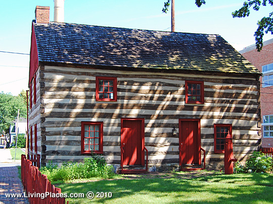 Barnett Bob Log House, National Register of Historic Places, York, PA