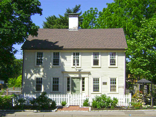 Caleb Gorton House, ca. 1784, 987 Greenwich Avenue, Warwick, RI, National Register