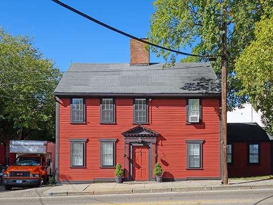 Caleb Greene House, ca. 1800, 15 Centerville Road, Warwick, RI, National Register