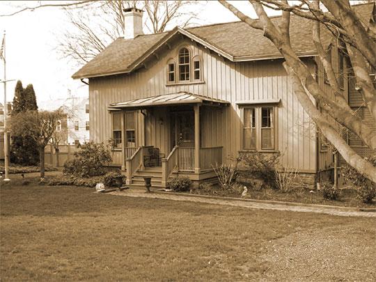 Thomas Galvin Cottage, ca. 1848, 53 Dearborn Street, Newport, RI
