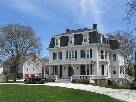 Borden Farm, ca. 1865, 2951-2967 East Main Road, Portsmouth, RI, National Register.
