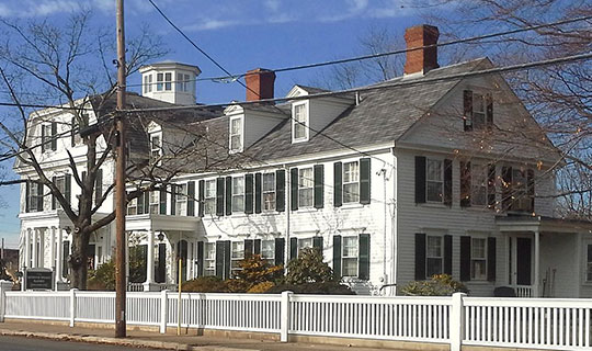 Governor William Sprague Mansion, ca. 1790, 1351 Cranston Street, Cranston, RI, National Register