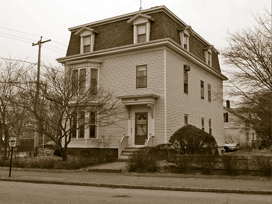 House in the Edgewood Historic District-Shaw Plat, Cranston, RI, National Register