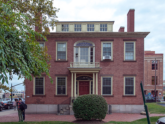 Arnold-Palmer House, ca. 1826, 33 Chestnut Street, Providence, RI, National Register