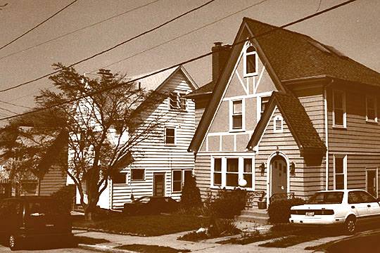 Homes on Dexterdale Road, Summit Historic District, Providence, RI, National Register