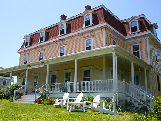 Hygeia House Hotel, ca. 1885, Beach Street, New Shoreham (Block Island), RI, National Register