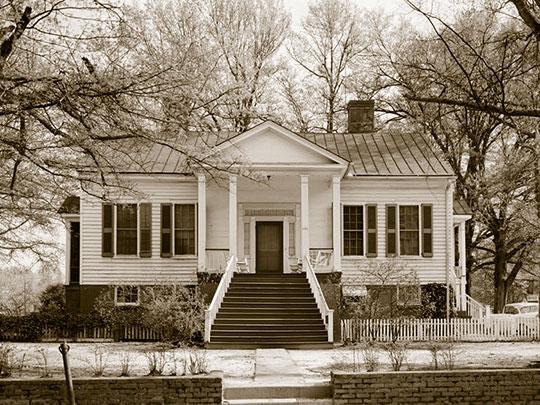 Morris House, ca. 1840, 220 East Morris Street, Anderson, SC