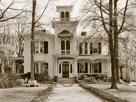 Jeff Maxwell House, ca. 1876, 1109 West Whitner Avenue, Anderson, NC