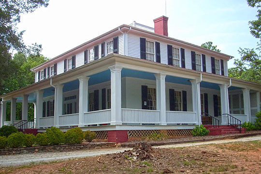 Ashtabula, ca. 1828, Old Greenville Highway, Anderson County, SC, National Register