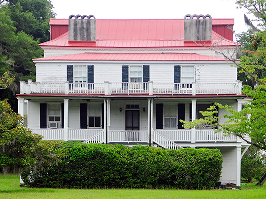 Coffin Point Plantation, ca. 1801, Seaside Road, St. Helena Island, Beaufort County, SC, National Register